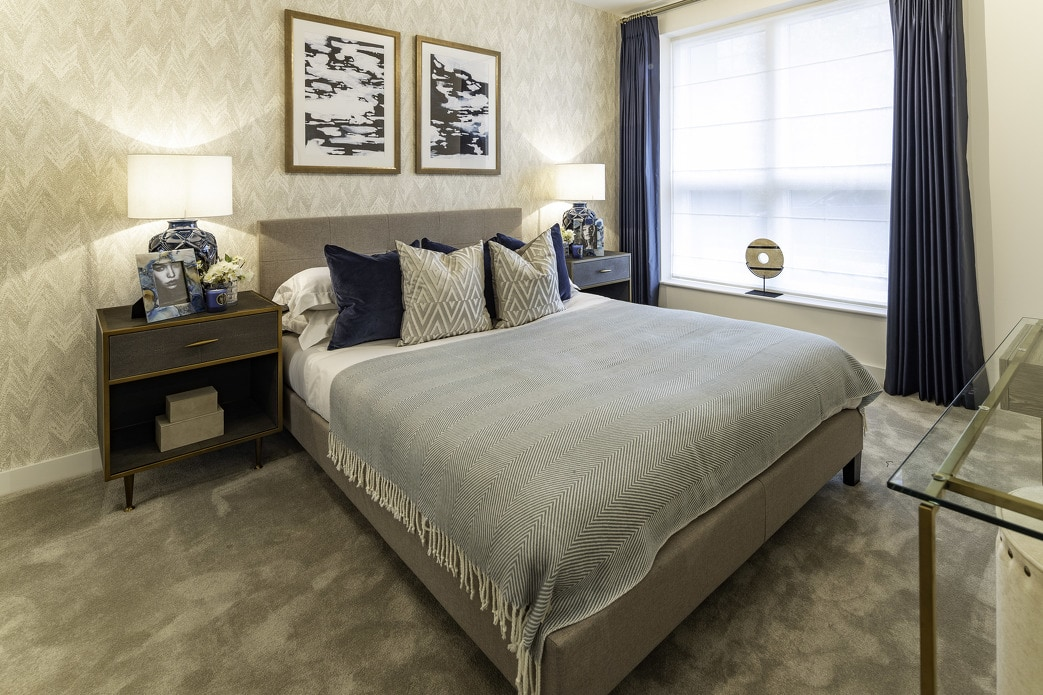 Photo of the bedroom at ARRO, Shared Ownership homes available on Share to Buy
