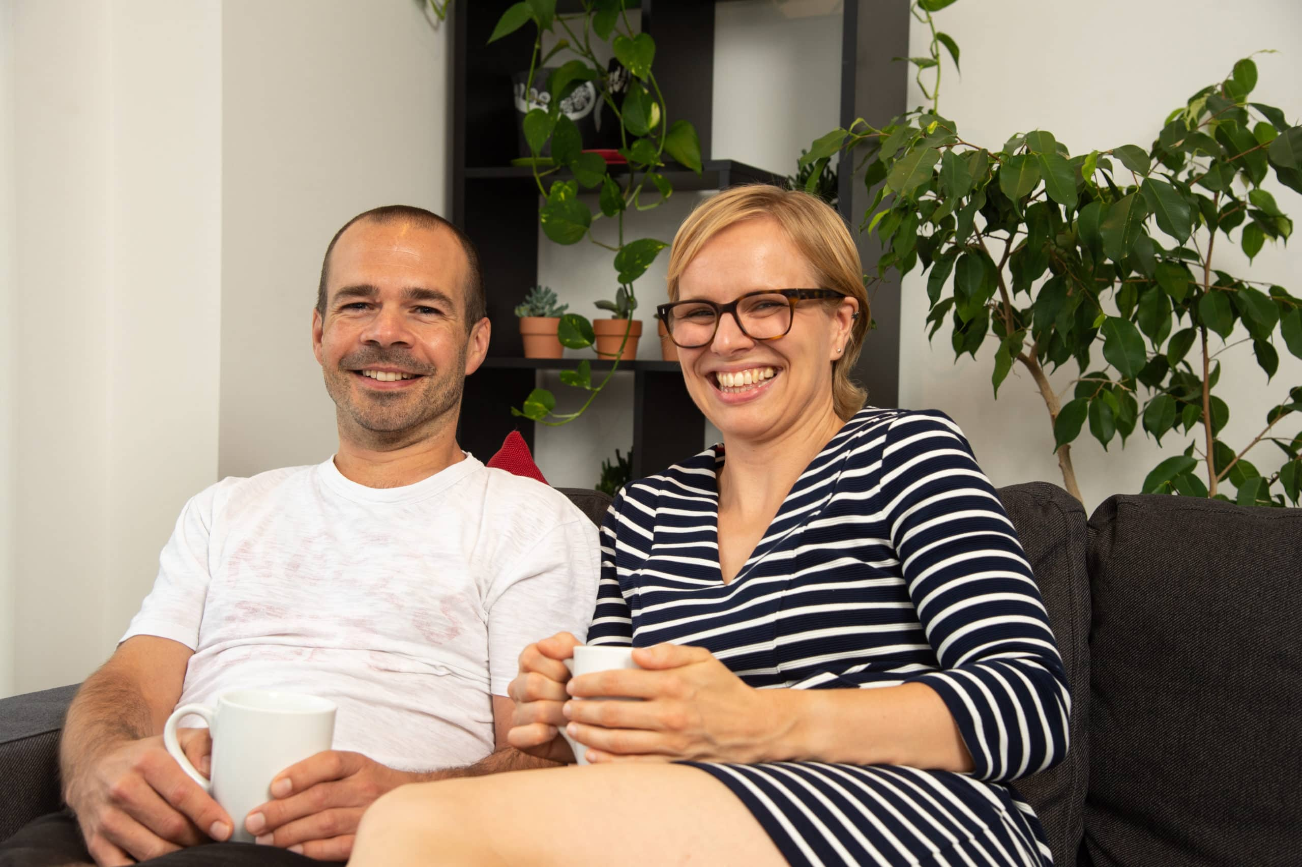 Andrew & Kat - Shared Ownership owners at Churchfield Quarter