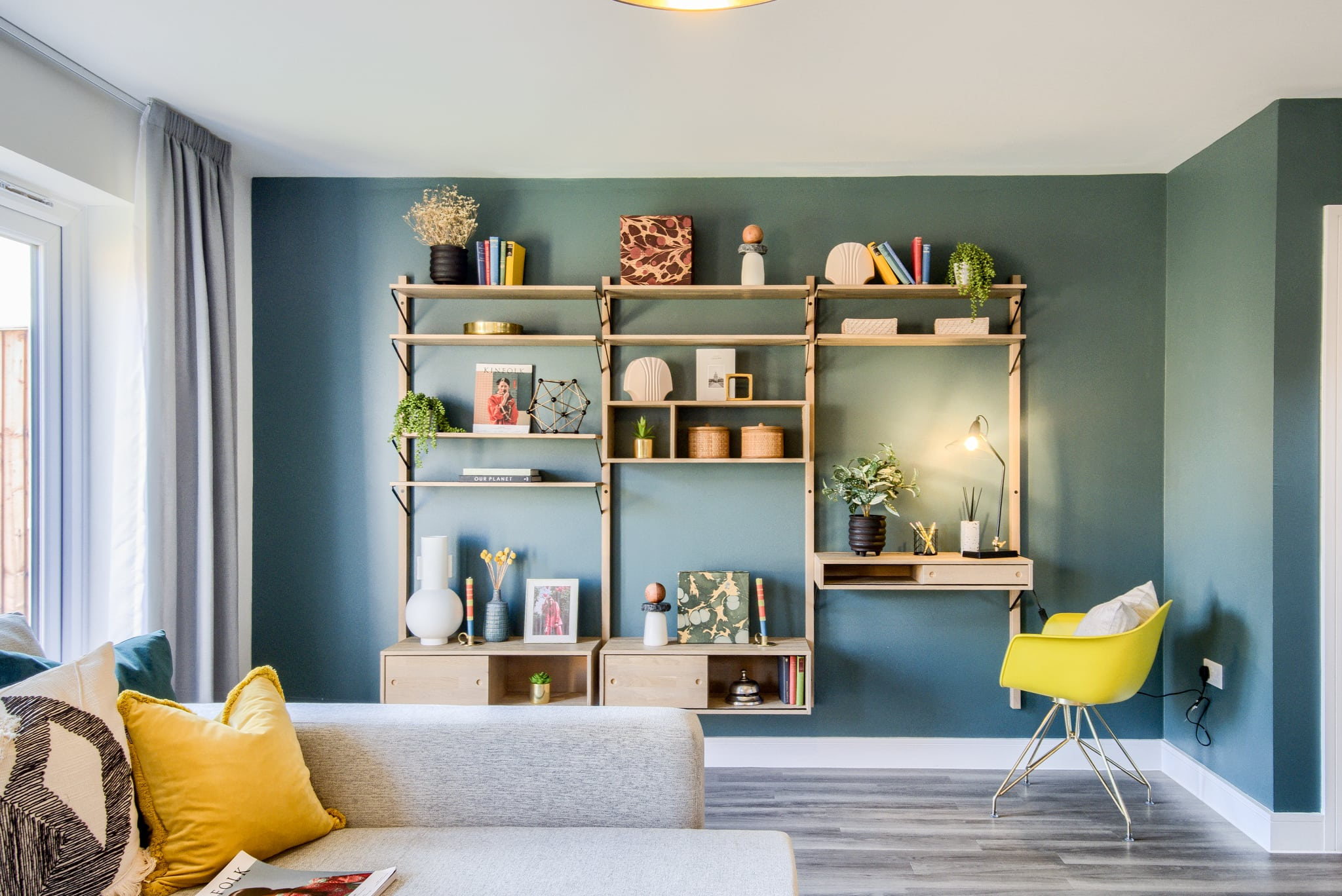 Show home photography of a living room at L&Q's Consilio - Shared Ownership homes available on Share to Buy