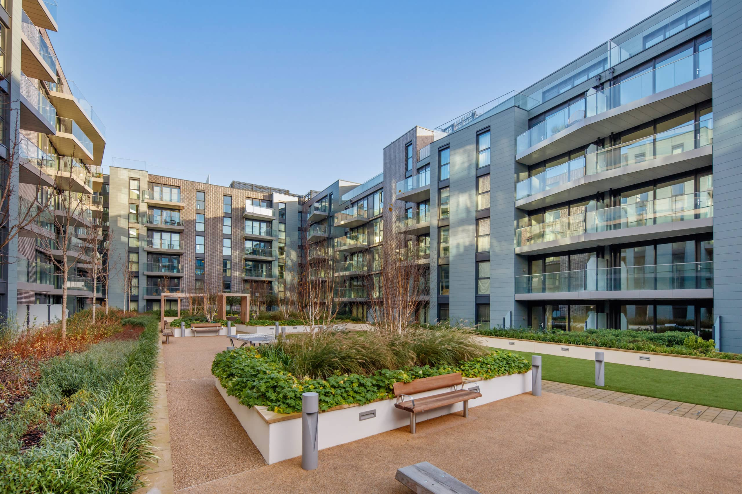 L&Q at Greenwich Square Exterior - Shared Ownership homes available on Share to Buy
