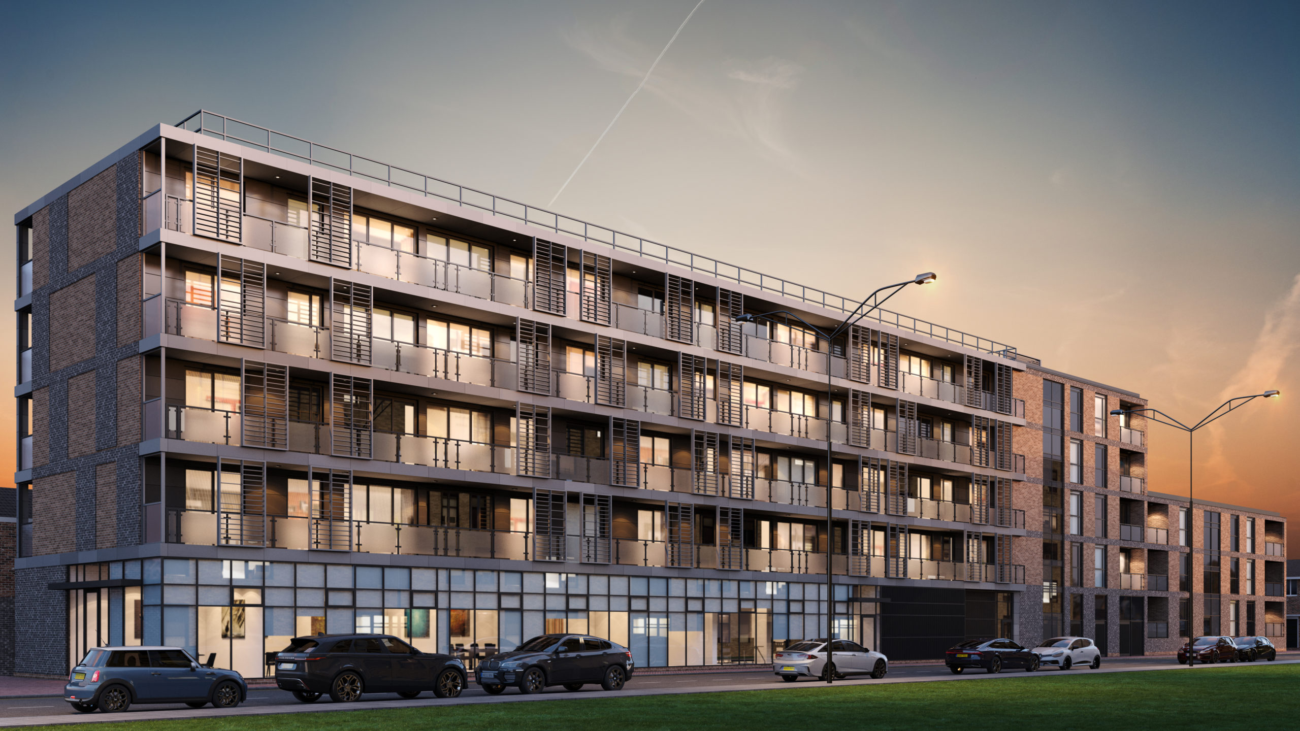 External CGI of Be West's The Apex - Shared Ownership homes available on Share to Buy