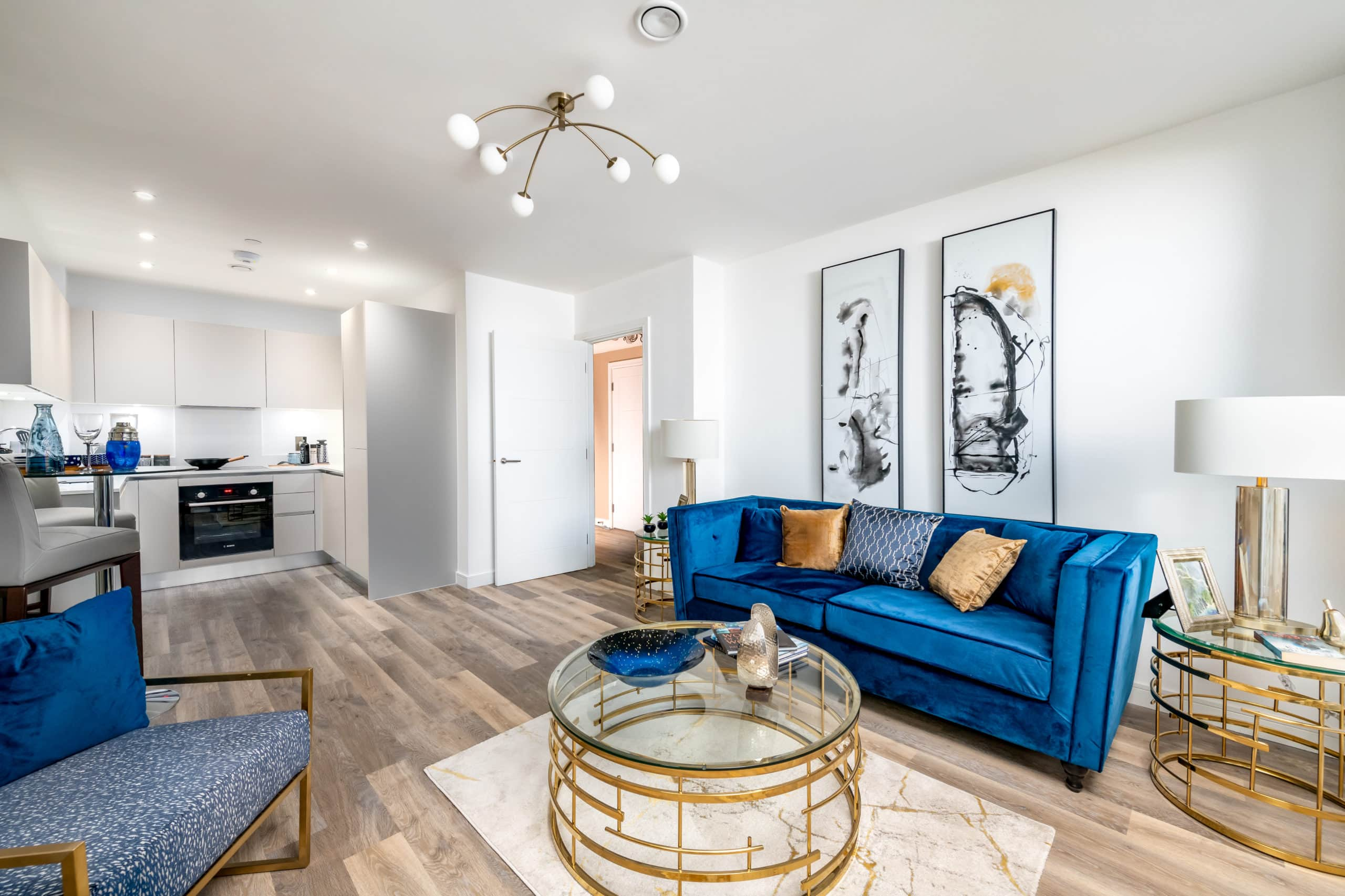 Show home photography of a living room at SO Resi's' SO Resi Ealing - Shared Ownership homes available on Share to Buy