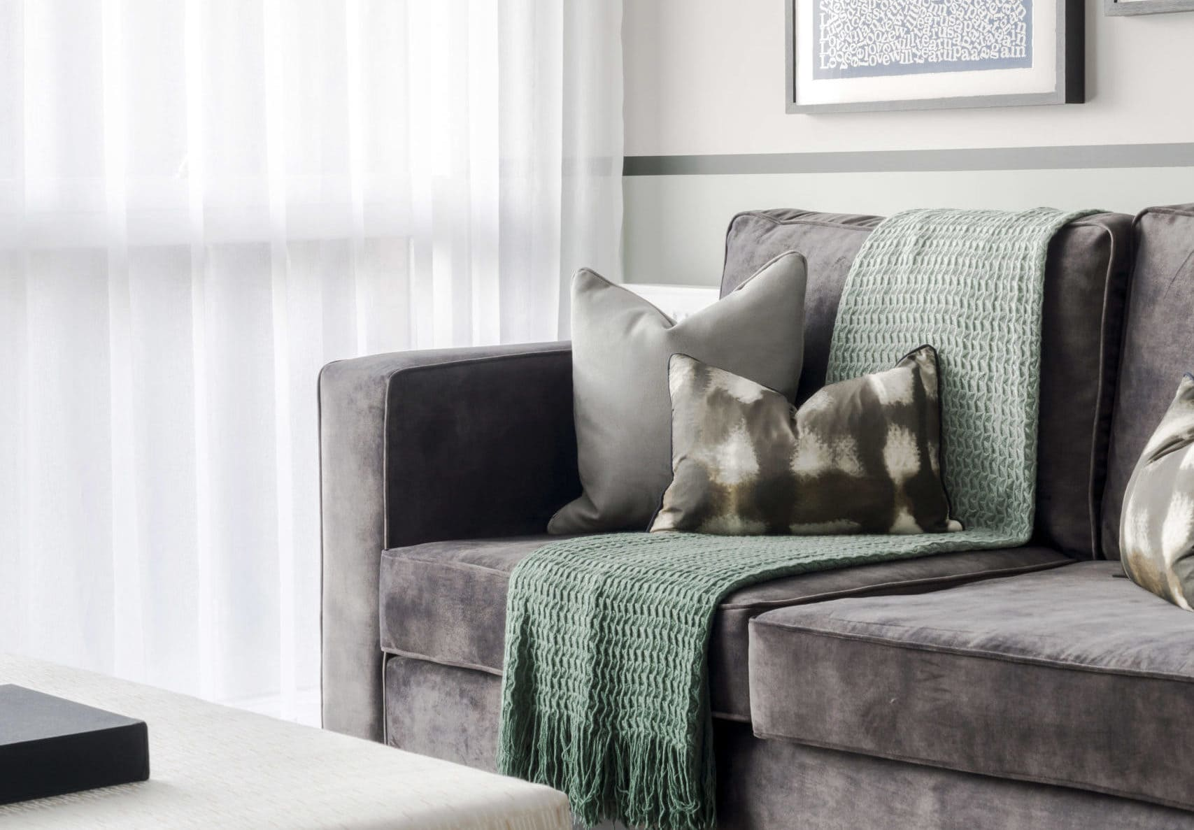 Seven interior design tips from INVESTA - how to decorate a new build Shared Ownership or Help to Buy home