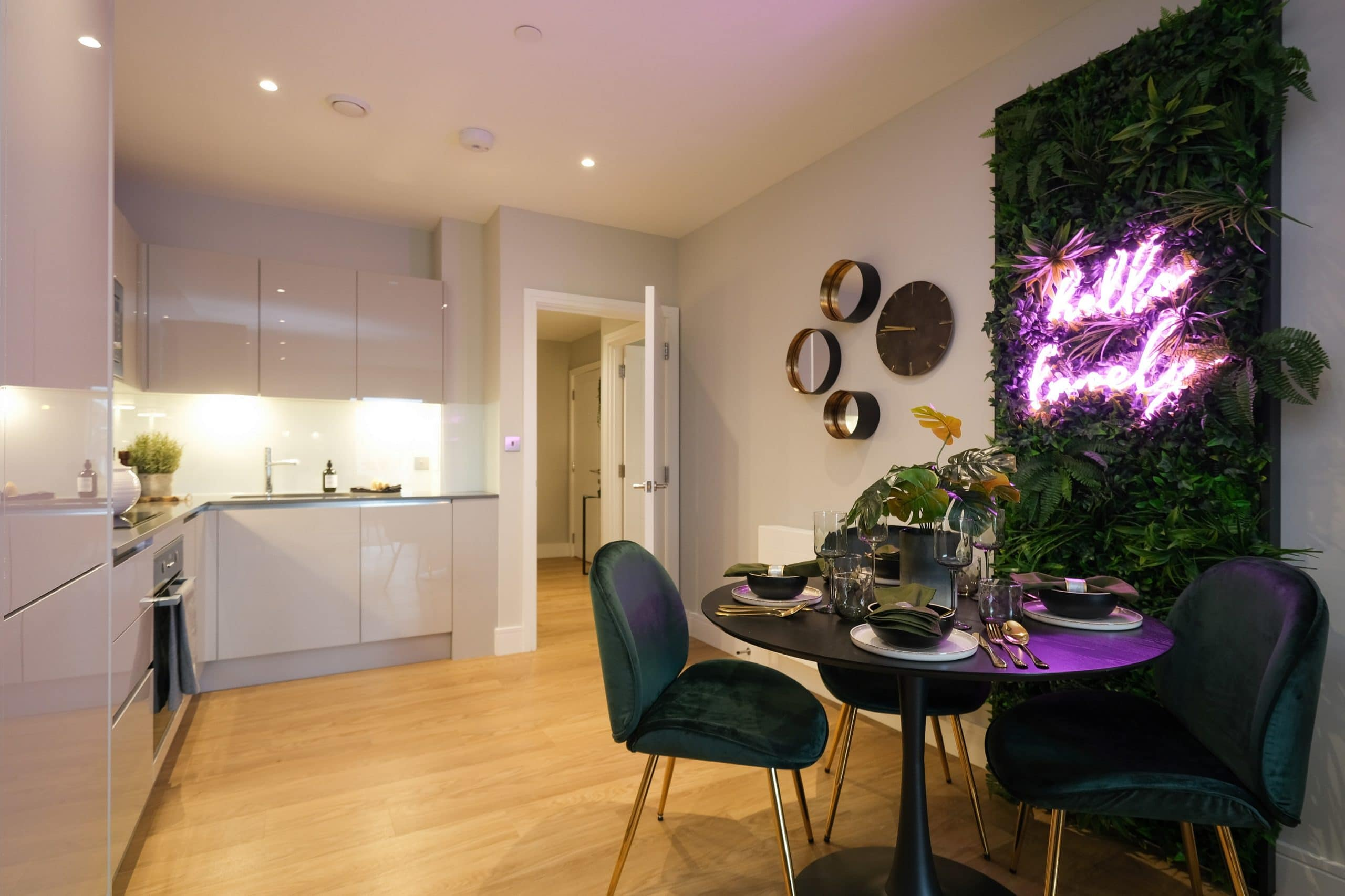 Kitchen area space at The Switch by Catalyst New Homes - Shared Ownership homes available on Share to Buy
