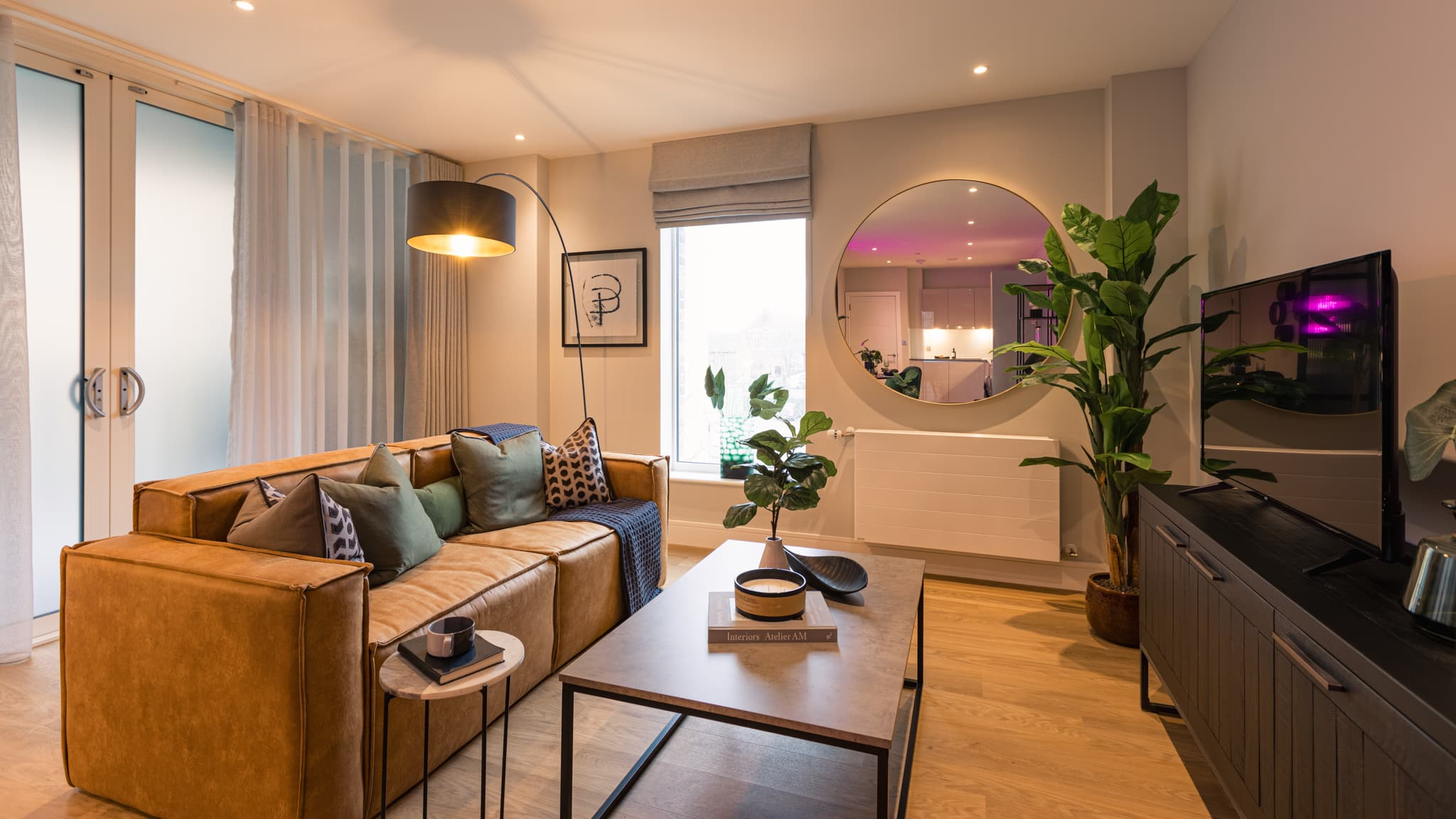 Living area at The Switch by Catalyst New Homes - Shared Ownership homes available on Share to Buy