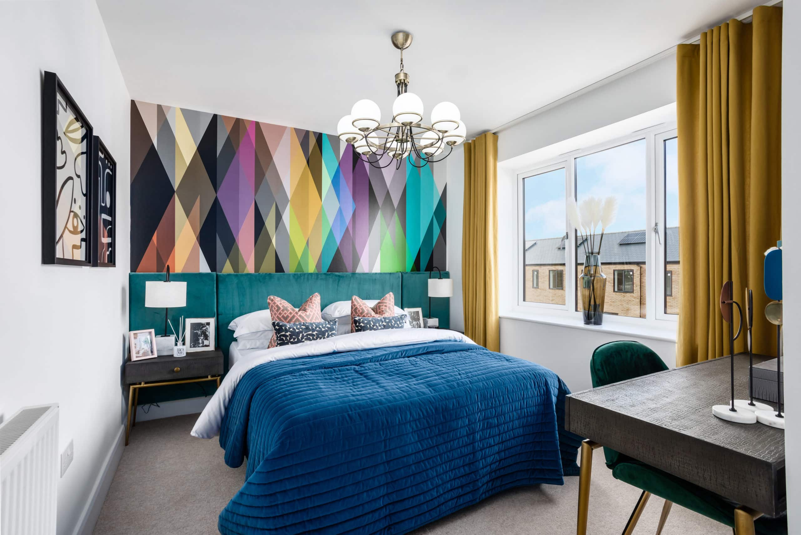 Bedroom one at Catalyst's The Printworks - Shared Ownership homes available on Share to Buy