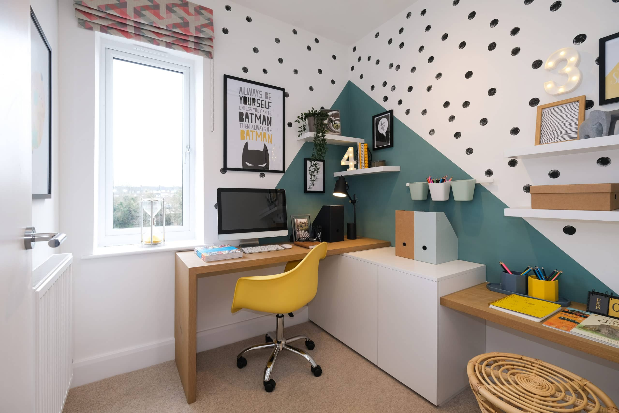 Study area at Catalyst's The Printworks - Shared Ownership homes available on Share to Buy