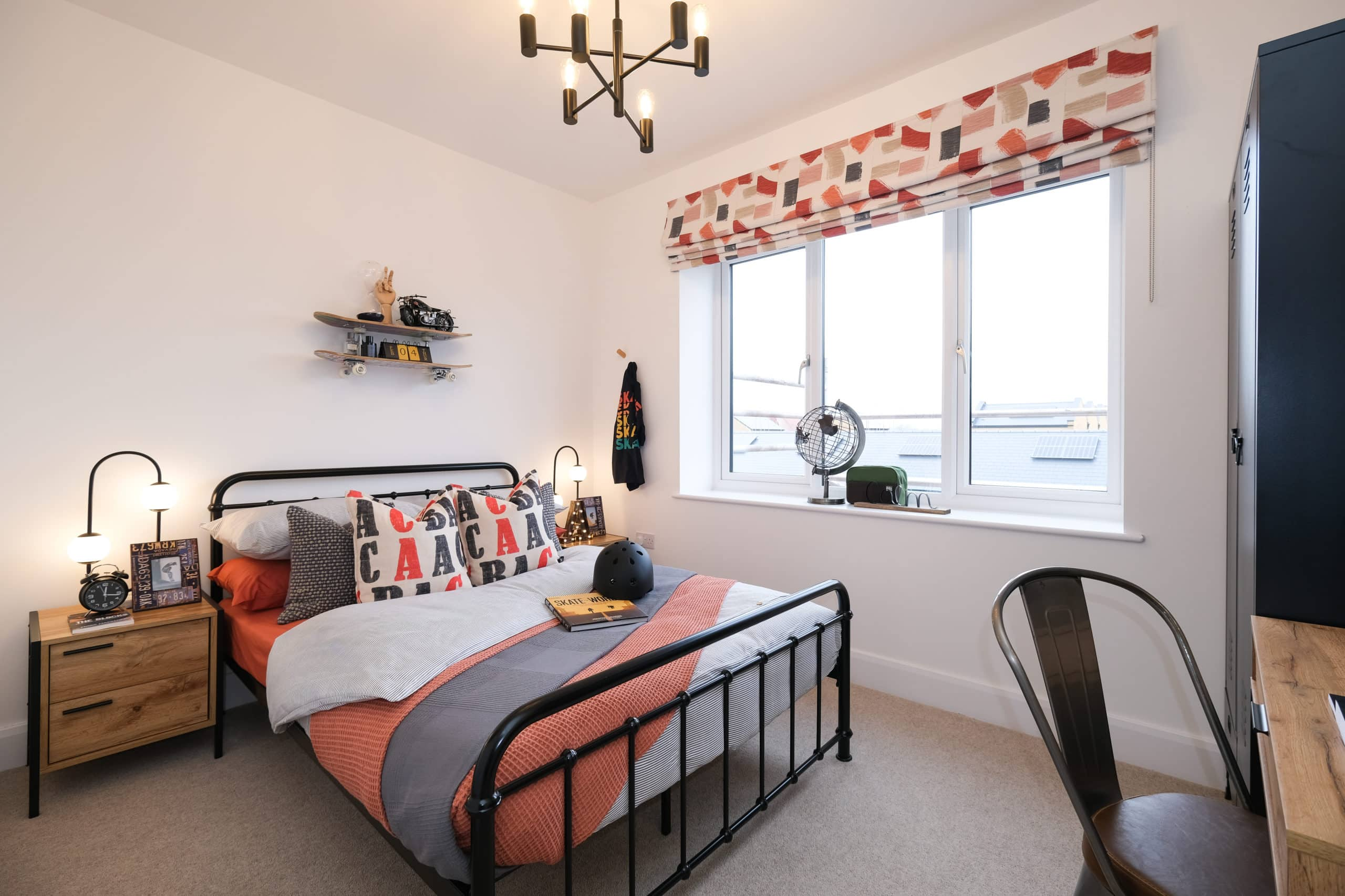 Bedroom two at Catalyst's The Printworks - Shared Ownership homes available on Share to Buy
