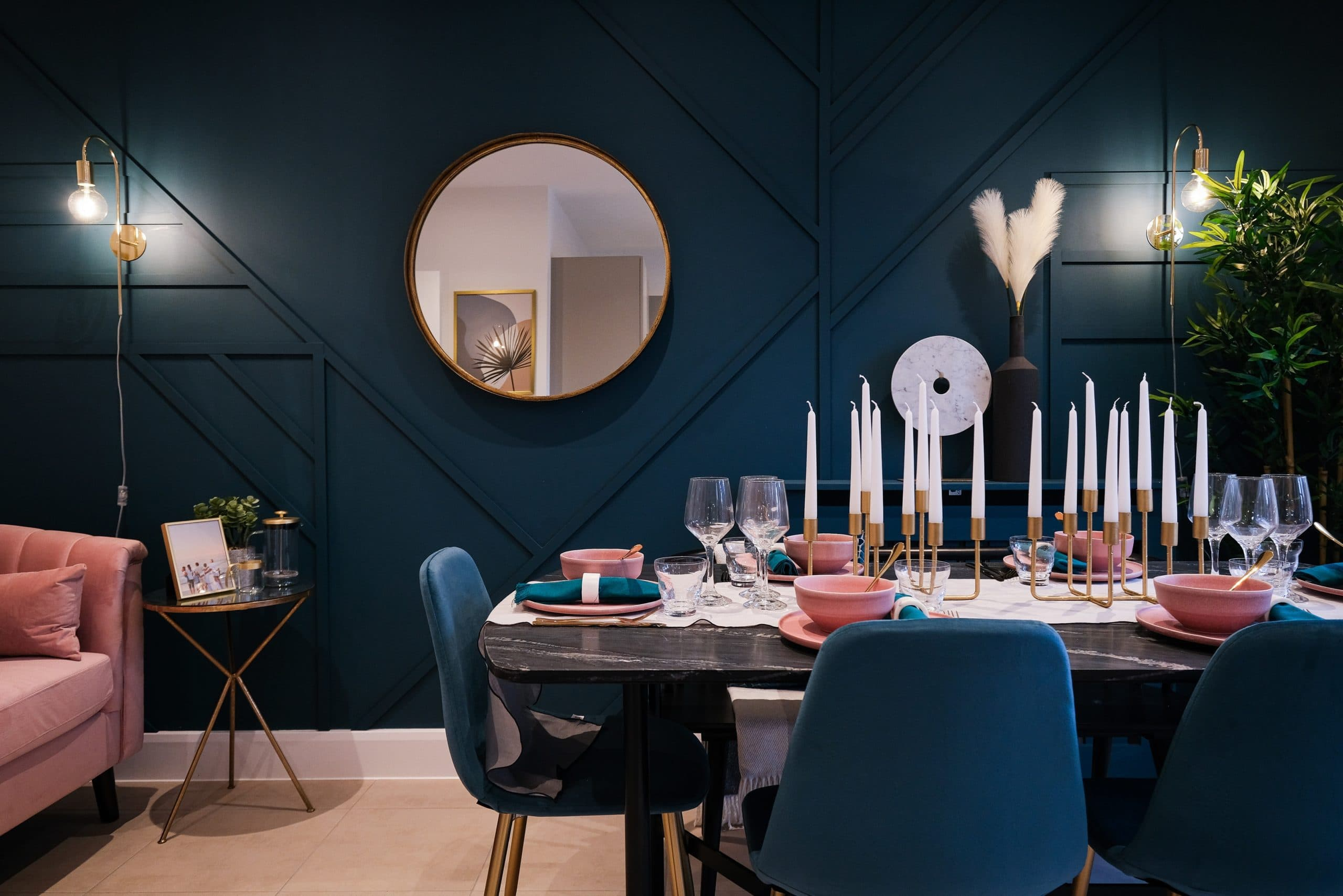 Dining area at Catalyst's The Printworks - Shared Ownership homes available on Share to Buy