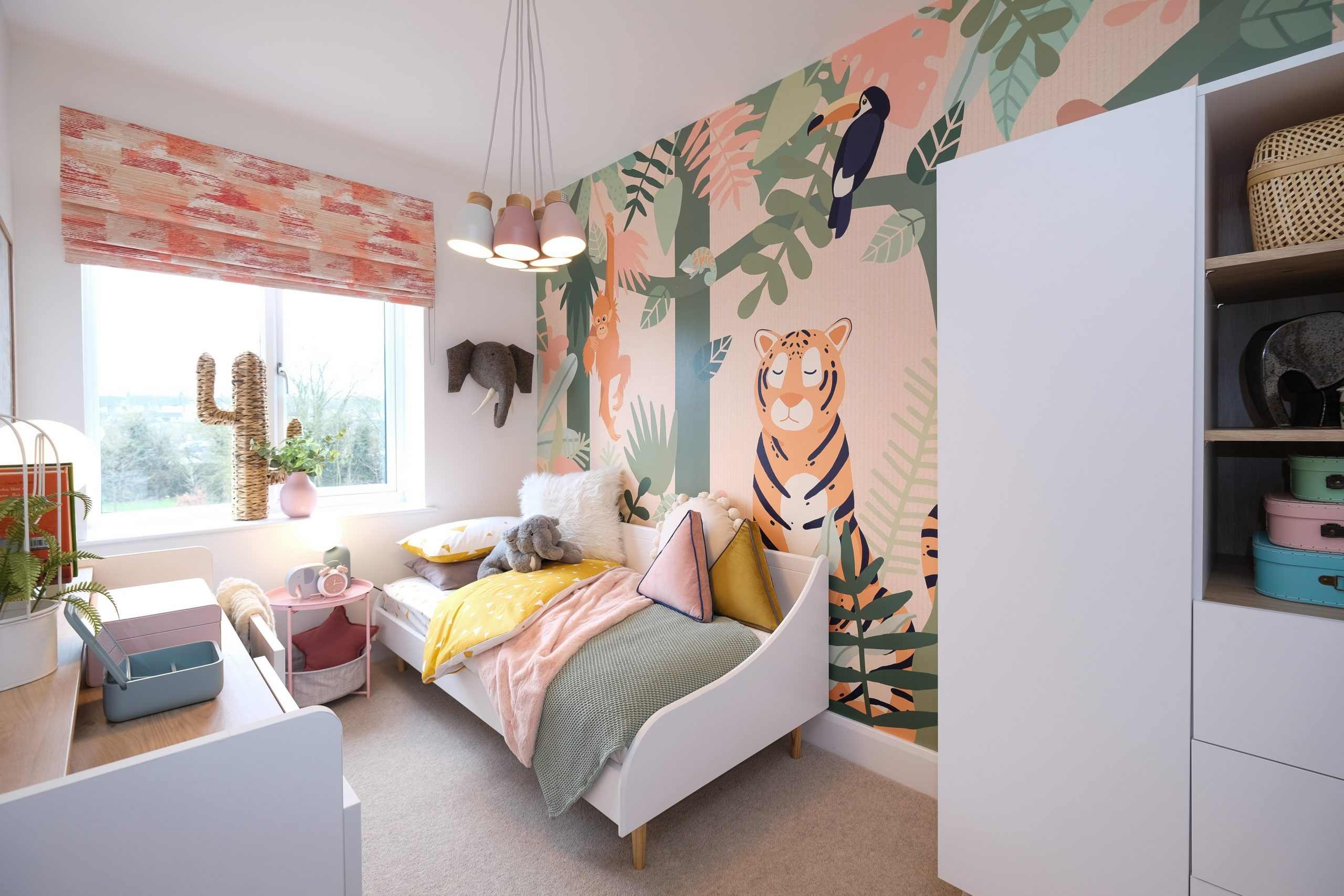 Bedroom three at Catalyst's The Printworks - Shared Ownership homes available on Share to Buy