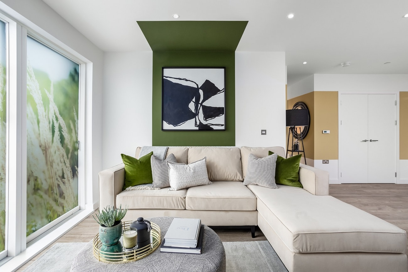 Internal show home photography of L&Q at Kidbrooke Village - Shared Ownership homes available on Share to Buy