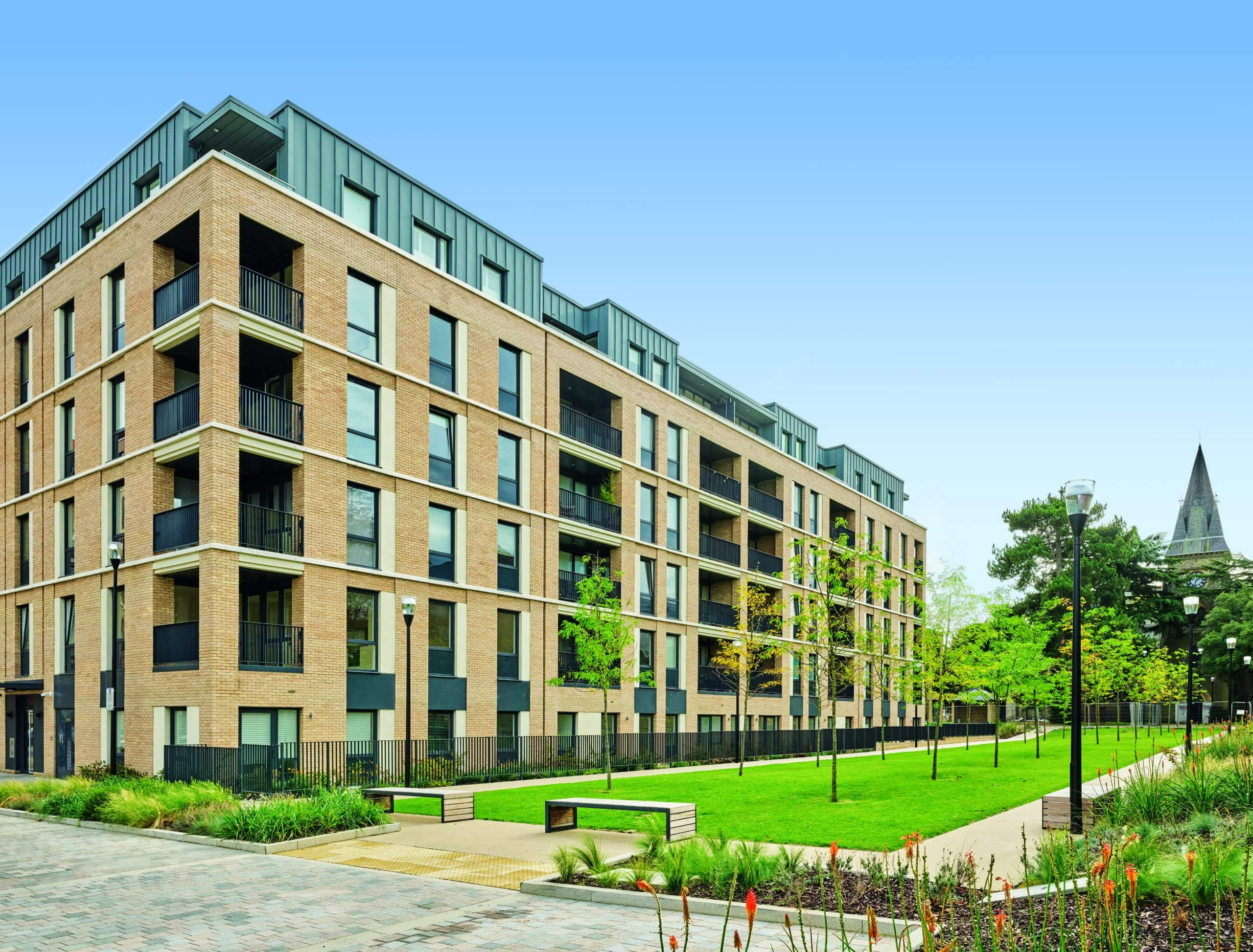 External photography of Catalyst's Aspire development - Shared Ownership and Help to Buy homes available on Share to Buy
