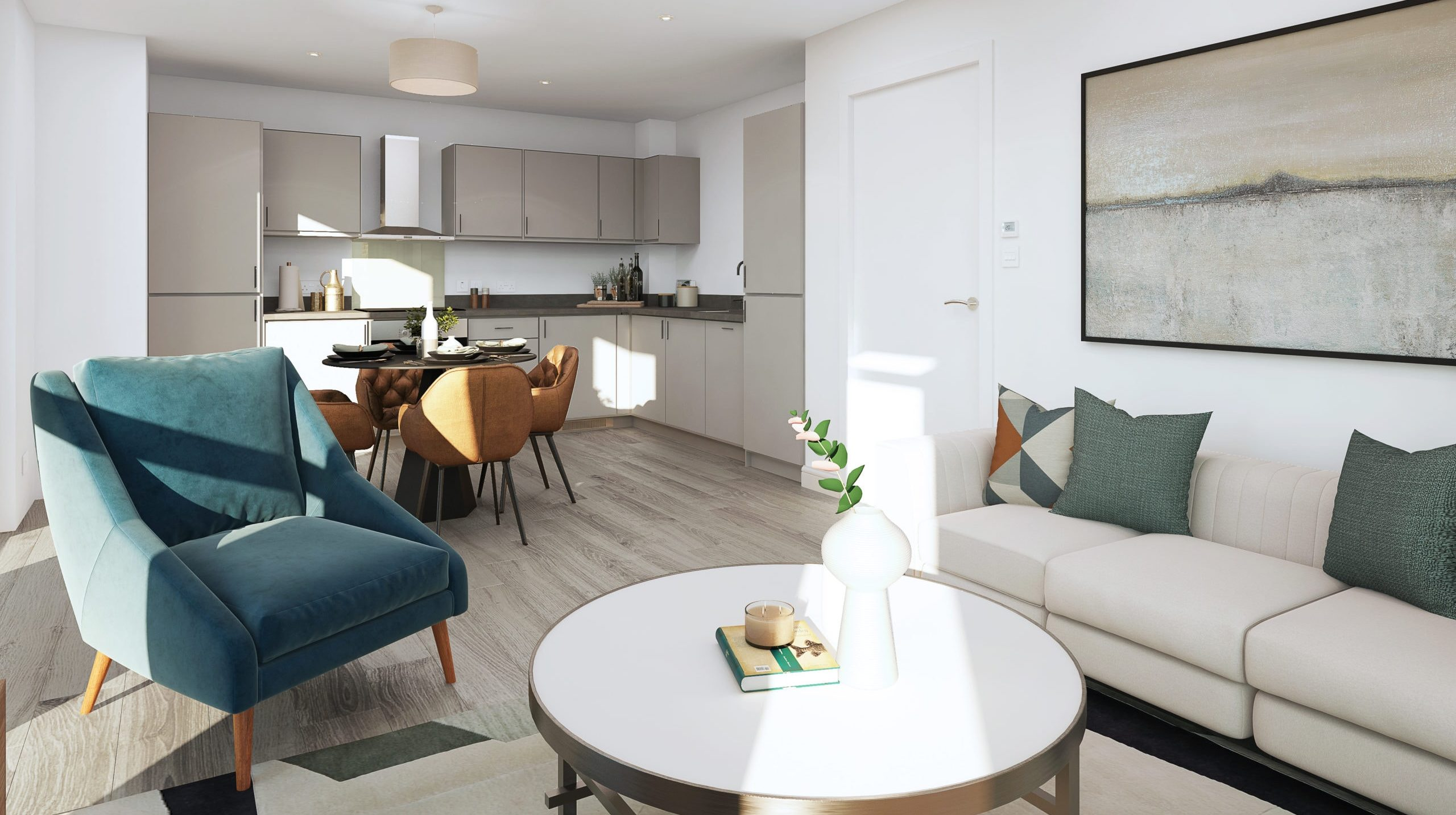 Internal show home photography of Catalyst's Newman Place - Shared Ownership homes available on Share to Buy