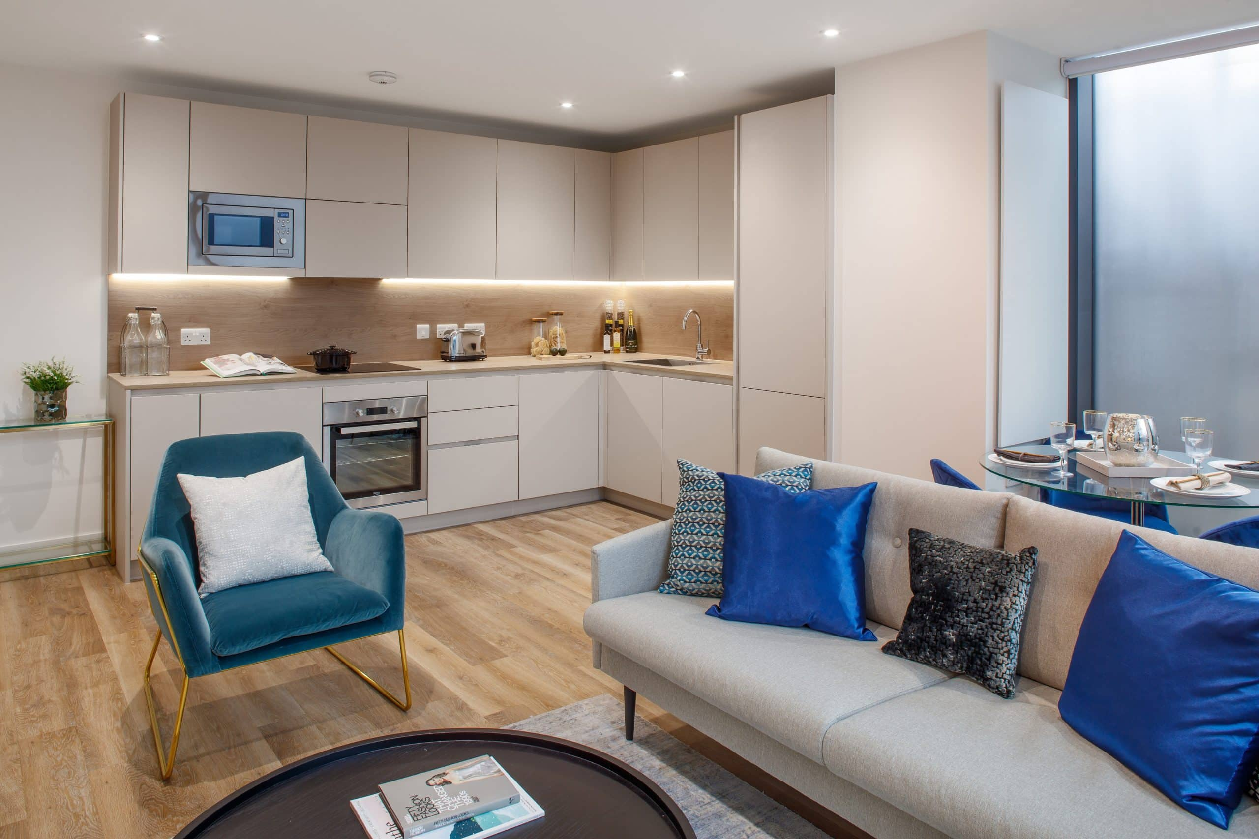 Interior show home photography of L&Q at Queens Quarter development - Shared Ownership and Help to Buy homes available on Share to Buy