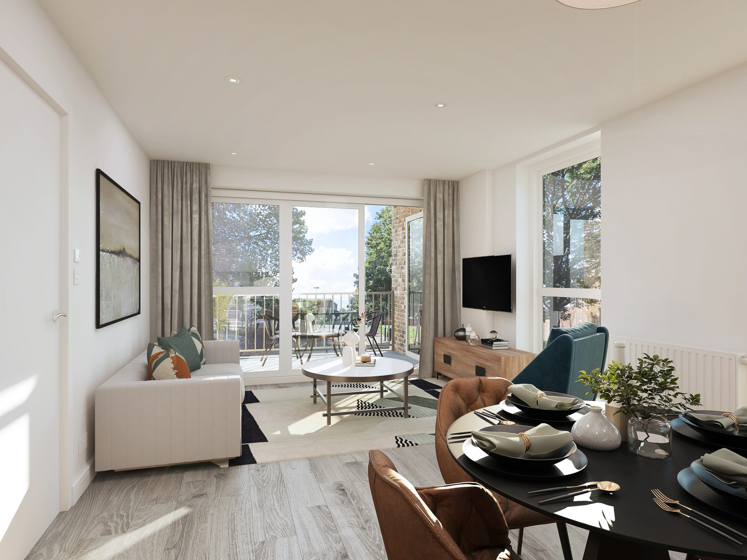 Interior show home photography of Catalyst's Newman Place development - Shared Ownership and Help to Buy homes available on Share to Buy