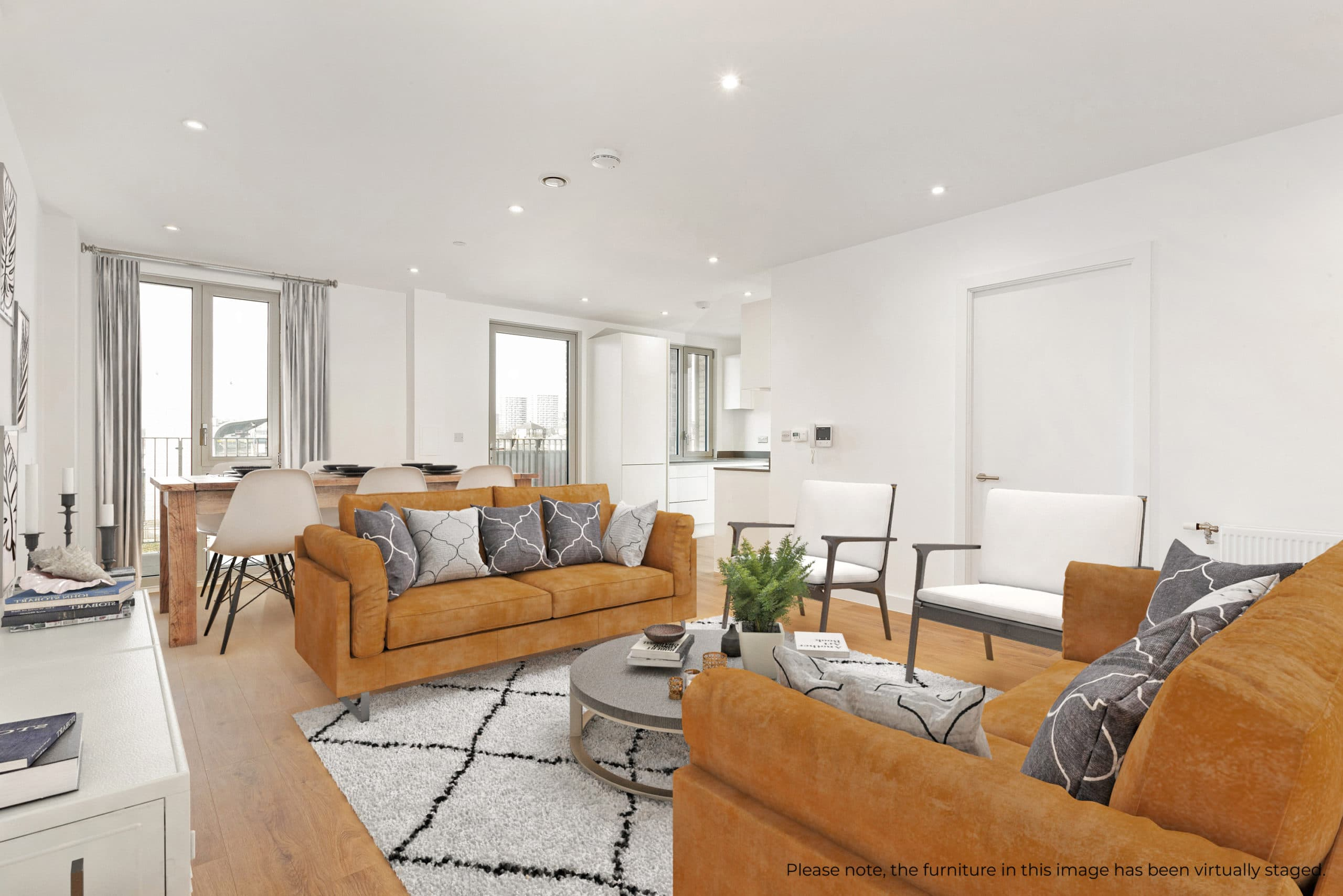 Internal show home photography of Southern Home Ownership's The Refinery - Shared Ownership homes available on Share to Buy