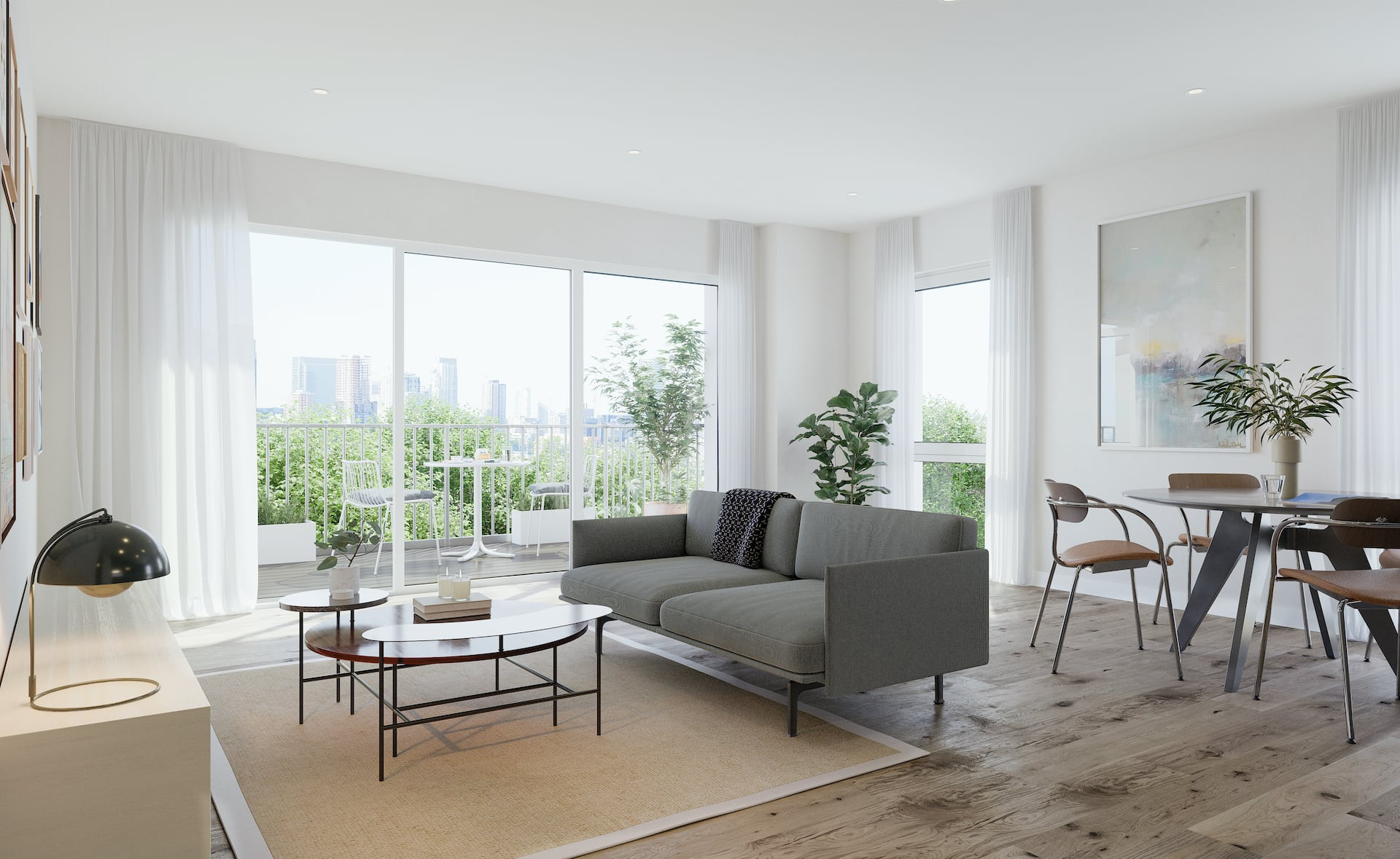 Internal show home photography of L&Q at The Timberyard - Shared Ownership homes available on Share to Buy