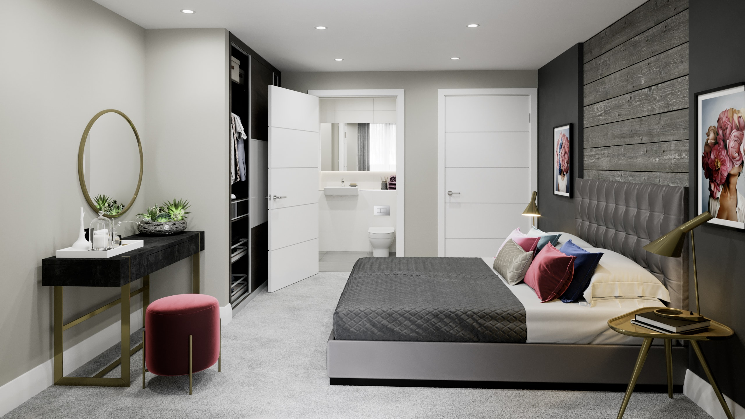Internal CGI of Catalyst's The Folium - Shared Ownership homes available on Share to Buy
