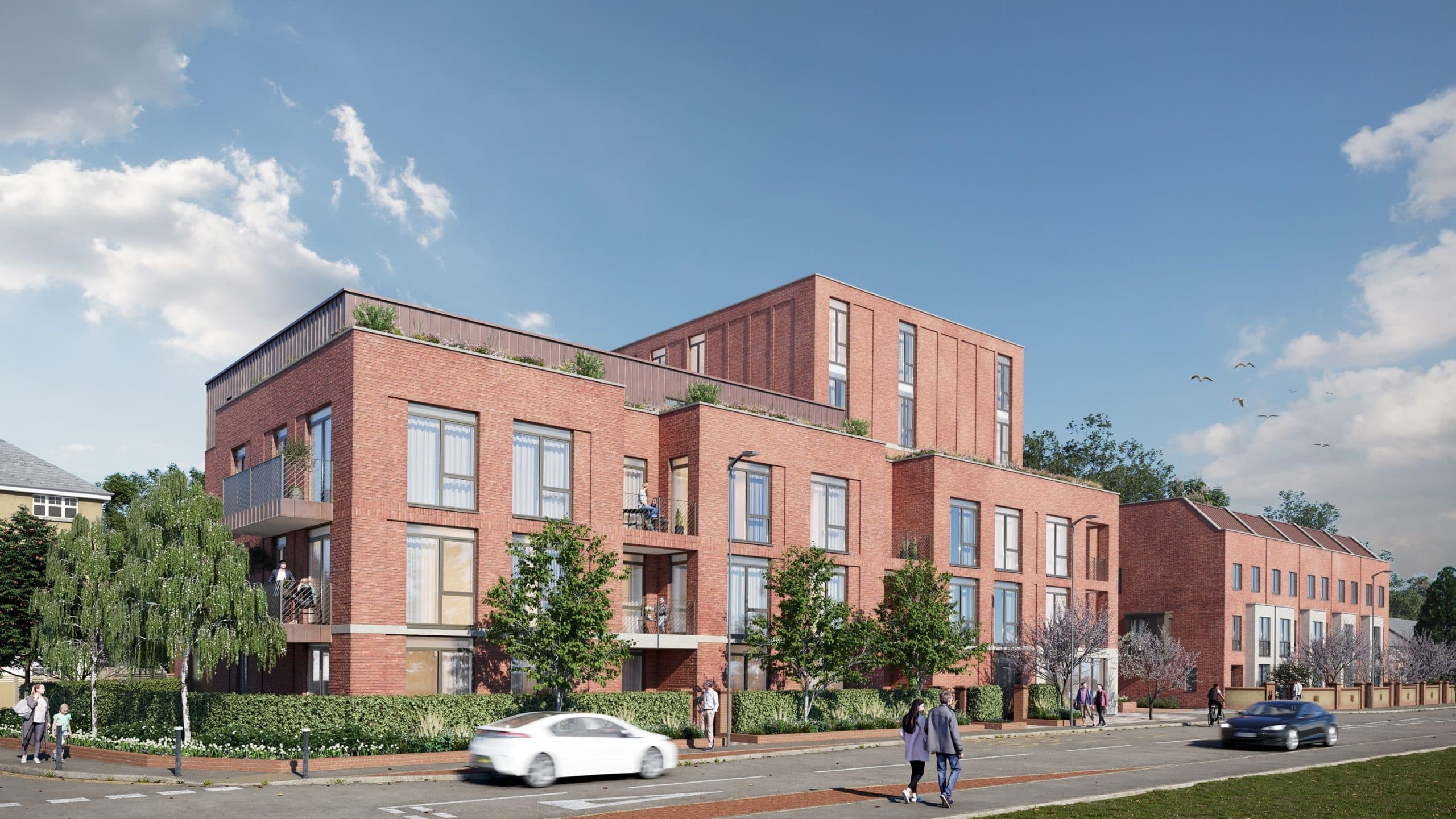 External CGI of Catalyst's The Folium - Shared Ownership homes available on Share to Buy