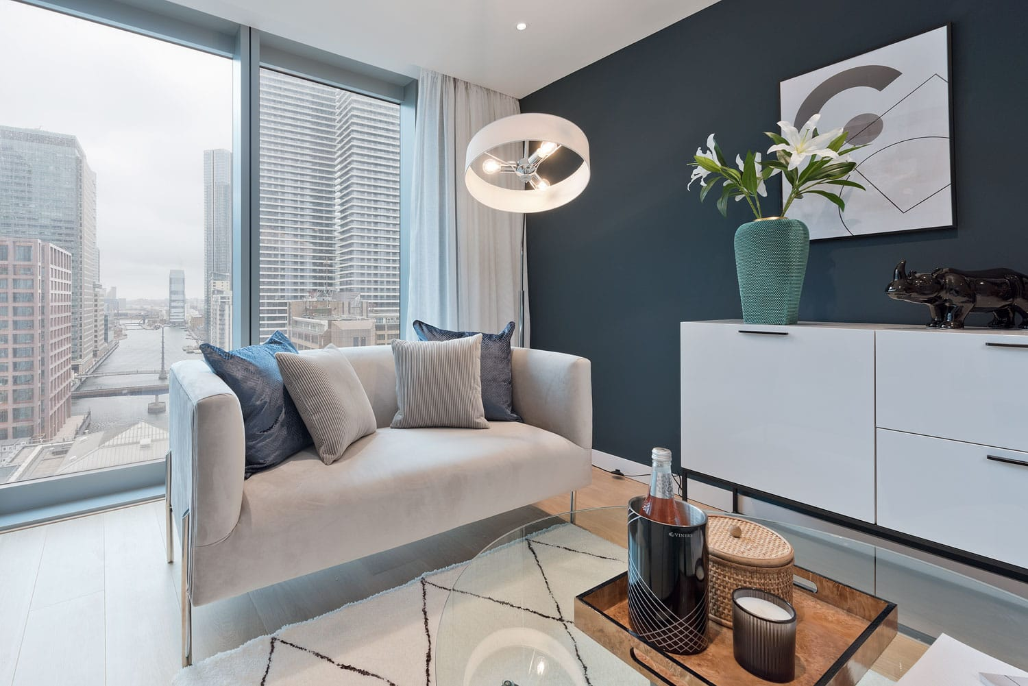 Internal photography of Poplar HARCA's Landmark Pinnacle - Shared Ownership homes available on Share to Buy