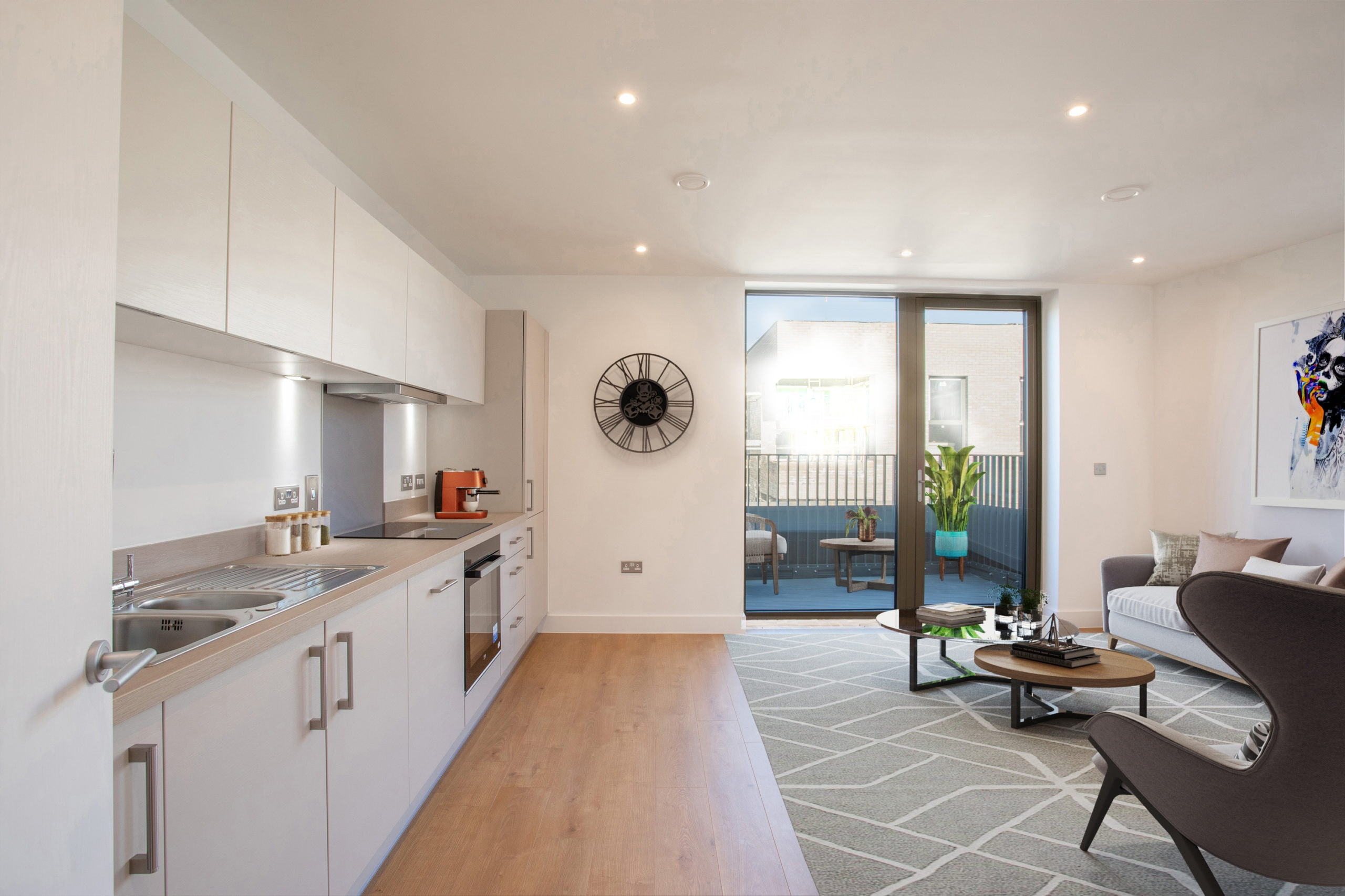 Internal photography of L&Q's Lock No 19 - Shared Ownership homes available on Share to Buy