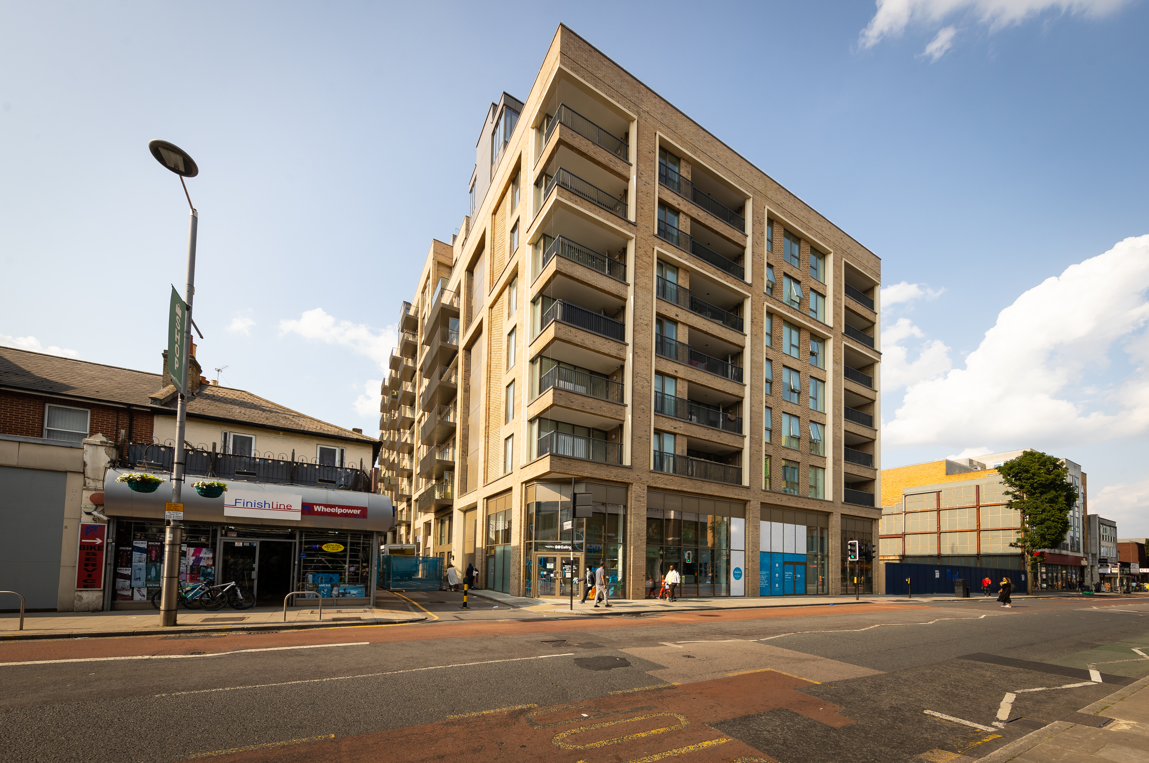 External CGI of SO Resi Ealing - Shared Ownership homes available on Share to Buy