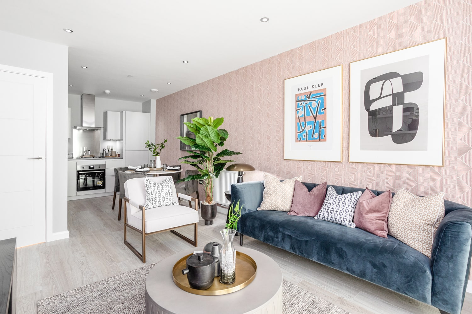 Interior photography of L&Q at The Silk District - Shared Ownership homes available through on Share to Buy